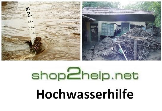 shop2help-Hochwasserhilfe